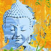 Awakened One Mantra Art Print