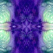 Awakening Spirit - Pattern Art By Sharon Cummings Art Print