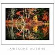 Awesome Autumn Poster Art Print
