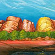 Ayers Rock End Art Print
