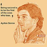 Ayrton Art Print