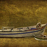 Azorean Fishing Boats Art Print