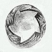 Aztec Bowl Art Print