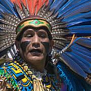 Aztec Dance Art Print