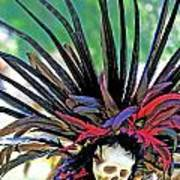 Aztecan Ceremony 15 Art Print
