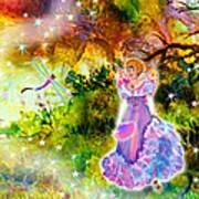Azuria In Her Banquet Gown Art Print