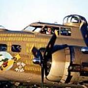 B-17 Nine O Nine Art Print