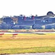B-24 Landing Art Print
