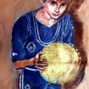 B-ball Art Print
