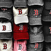B For Bosox Art Print