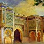 Bab Mansur Print by Catf