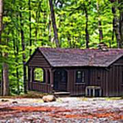Babcock Cabin Art Print