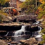 Babcock Grist Mill And Falls Art Print