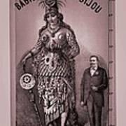 Babil And Bijou - Giant Amazon Queen Art Print