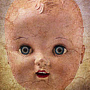Baby Doll Face Art Print