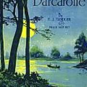 Bacarolle Art Print