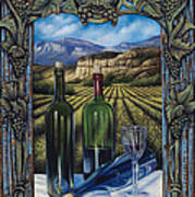 Bacchus Vineyard Art Print by Ricardo Chavez-Mendez
