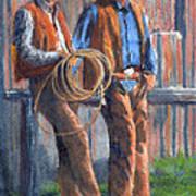 Back At The Ranch Art Print
