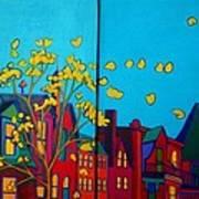 Back Bay Boston Art Print