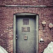 Back Door Alley Way Art Print