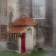Back Door To The Castle Art Print by Susan Candelario