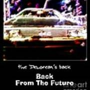Back From The Future Art Print