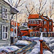 Back Lanes 02 Montreal By Prankearts Art Print