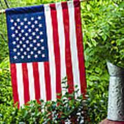 Back Porch Americana Art Print
