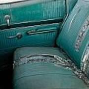 Back Seat Blues  Art Print