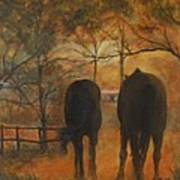 Back To The Stable Art Print