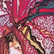 Backsliding Art Print by Adrianne  Jezin