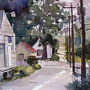 Backstreet Art Print