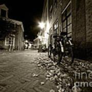 Backstreet Of Amersfoort  Art Print