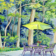 Backyard Retreat Art Print