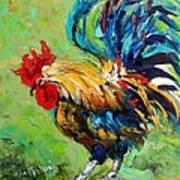 Bad Barnyard Bird Art Print