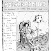 Bad Housekeeping The Magazine For Women  Who Art Print