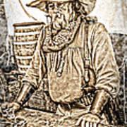 Bad Times Pilgrim Gotta Be Ready Print by Randall Branham