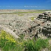 Badlands National Park  1 Art Print