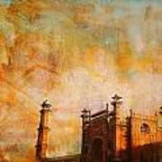 Badshahi Mosque Art Print by Catf