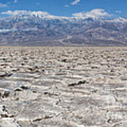 Badwater Basin - Death Valley Art Print