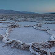 Badwater Salt Flats Art Print