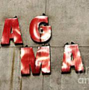 Bag Man Art Print