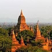 Bagan Temples Art Print