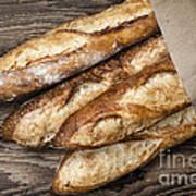 Baguettes Bread Art Print