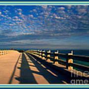 Bahia Honda Bridge In The Florida Keys Art Print