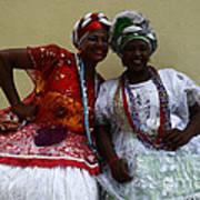 Bahian Ladies Of Salvador Brazil 3 Art Print