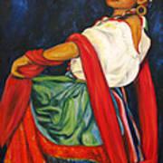 Baile Conmigo Art Print