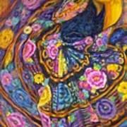 Baile En Las Flores  Art Print