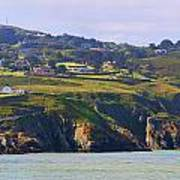 Baily Lighthouse Panorama 1 Art Print