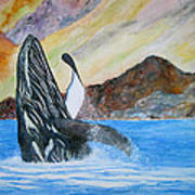 Baja Breach Art Print